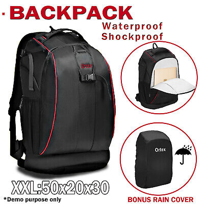 Large Digital Camera Bag Backpack SLR DSLR Case for Nikon Sony Canon Rucksack