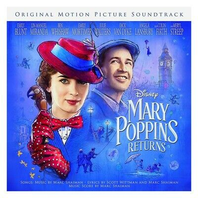 CD Mary Poppins Returns: Original Motion Picture Soundtrack - New and Sealed