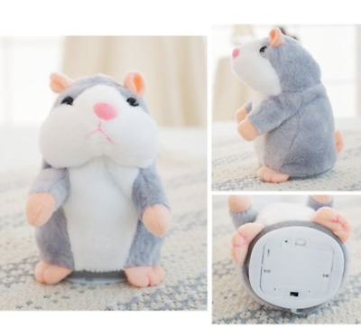 Cute Talking Hamster Mimicry Pet Plush Toy Kids Speak Talking Sound Record Toy@9