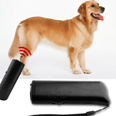 Ultrasonic Anti Dog Barking Pet Trainer LED Light Gentle Chaser Petgentle Style