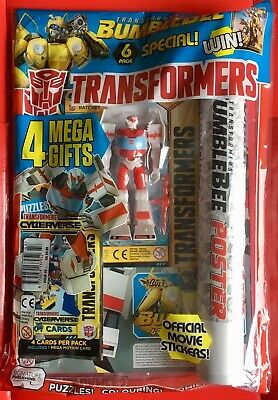Transformers Cyberverse Comic #43 / Signature / May 2019  / N/M / 4 Free Gifts!