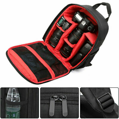 Large Waterproof DSLR SLR Camera Shoulder Bag Compact Photograph Backpack