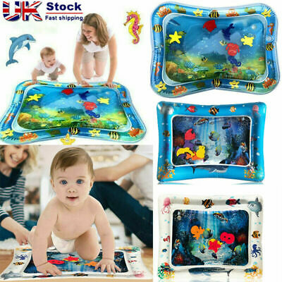 Baby Kid Inflatable Water Play Mat Infants Toddlers Perfect Fun Tummy Time Play