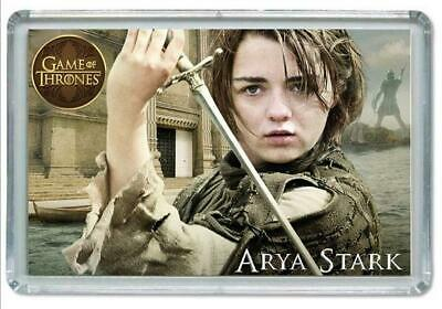 Iman Nevera, Magnet Souvenir Juego De Tronos, Game Of Thrones, Arya Stark