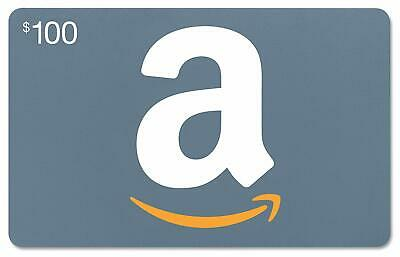 $100 Amazon Gift Card -Free Fast Shipping~ paypal accepted!~ lowest price.