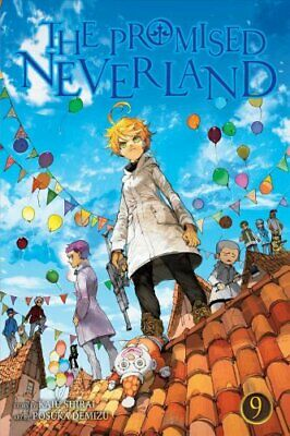 The Promised Neverland, Vol. 9 by Kaiu Shirai 9781974704873 | Brand New