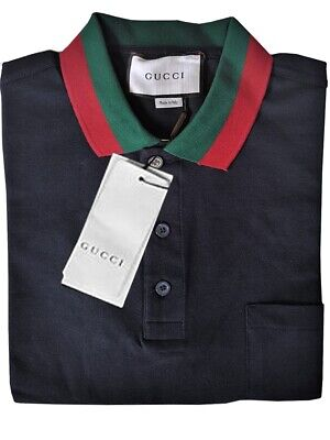 93c464f8dc2 GUCCI MEN S Polo Shirt Size S Short Sleeve NWTs msrp  680 -  200.00 ...