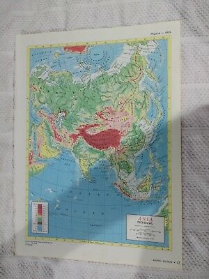 Map Of Asia 800.1954 Map Of Europe C 800 Ad Four Historical Maps Of England On
