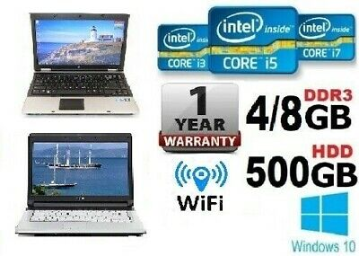 "FAST CHEAP Laptop 14.1 ""inch Core i5 / i3  8GB RAM 500GB /128GB SSD Win10 Wi-Fi"