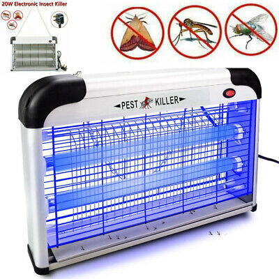 Electric UV Insect Killer Mosquito Fly Pest Bug Zapper Catcher Trap LED Light UK