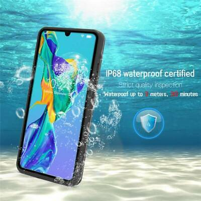 Waterproof Shockproof Hybrid Rubber TPU Case Cover For Huawei P30 Pro P30 Lite