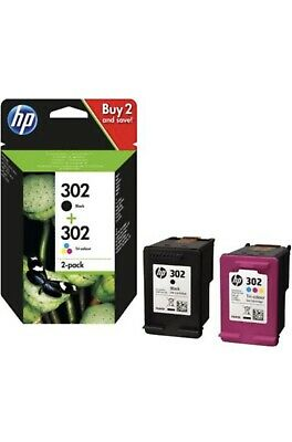 Hp Pack Cartouches Encre 302 Noir + Couleurs Black Colours Officiel