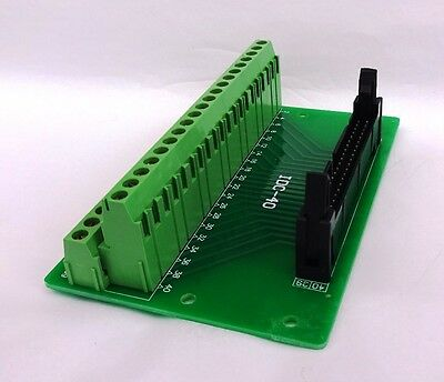 IDC-40 Male Header Connector Breakout Board Raspberry Pi Adapter