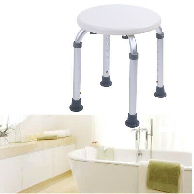 Shower Chair Bath Seat Adjustable Medical Safety Aluminum Stool Bench Seating