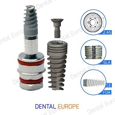 Dental Implant SPI Surface SLA 2.42 In tube & Blister Sterile for Dentist & Lab