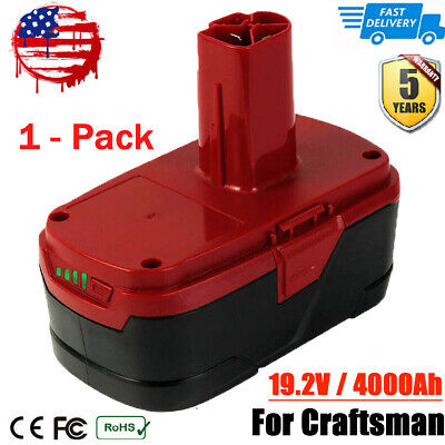 For Craftsman C3 19.2V 4000mAh XCP Lithium-ion Battery 130279005 11375 11045 US