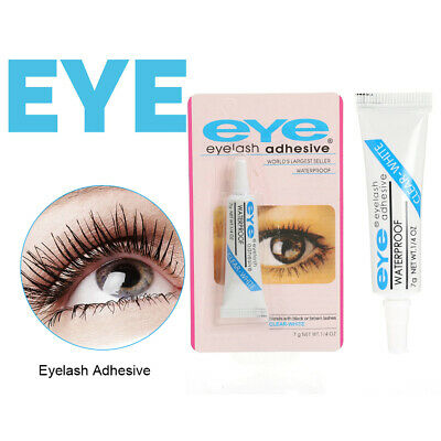 f08b116de0f Eyelash Strong Adhesive Strip Glue Waterproof Dark Clear Tone Tube 7g Make  up