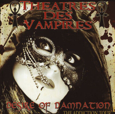 "Theatres Des Vampires ""Desire Of Damnation"" 2 CD Mint"