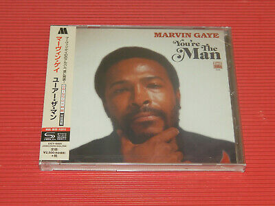 2019 Japan Only Shm Cd Marvin Gaye You're The Man
