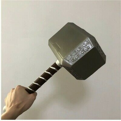 Thor's Thunder Hammer Marvel Avenger Fan Collectible Prop Cosplay 1:1 ratio 44CM
