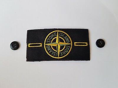 Stone Island Badge Classica Classic Bottoni Buttons Asta New Casual Patch Toppa