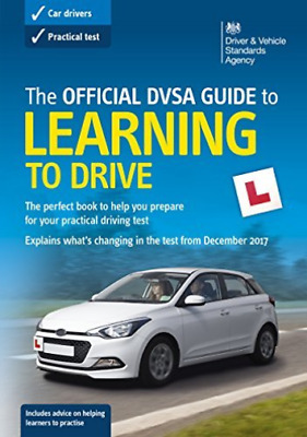 Driving Standards Agency-Official Dvsa Guide To Learning To Drive BOOK NEW