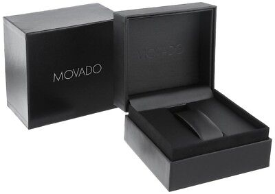 100%Brand New Authentic Movado Watch Gift Box With Warranty Booklet & Card