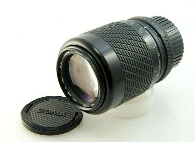 SIGMA 55-200mm f4-5.6 MC Compact One-touch zoom lens, Pentax fitting