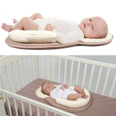 Newborn Infant Baby Pillow Cushion Prevent Flat Head Sleep Nest Pod Anti Roll