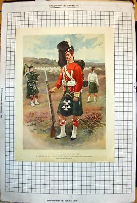 Old Corporal Princess Louises Argyll & Sutherland Highlanders W Small
