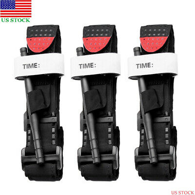 3pcs One Hand Tourniquet Hunting Tactical EHM Emergency Medical Combat First Aid