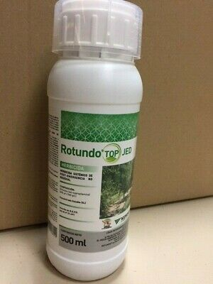 HERBICIDA TOTAL SISTEMICA NO RESIDUAL ROTUNDO TOP JED 500 ml.