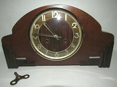 Antique/Vintage Chime Clock made in Germany, 8-Day, Key-wind