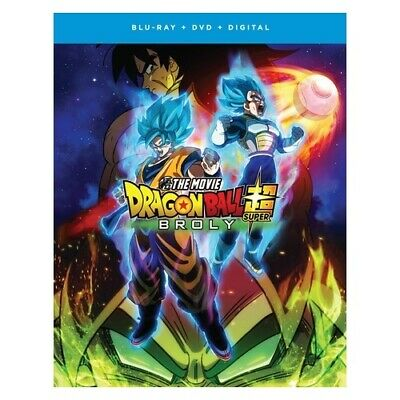 Funimation-Uni Dist Corp Brfn02129 Dragon Ball Super-Broly The Movie (Blu-Ray...