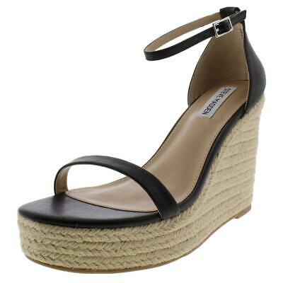 26e11c83a39 STEVE MADDEN WOMENS Survive Padded Insole Espadrille Wedges Shoes ...