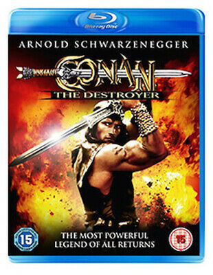 Conan The Destroyer Blu-Ray [Uk] New Bluray