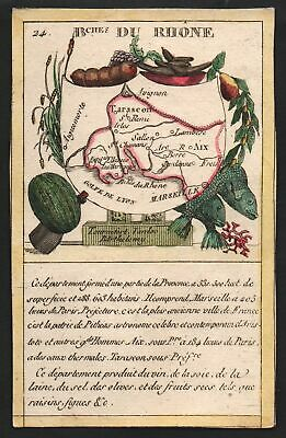 1800 Marseille Frankreich France playing card Spielkarte carte a jouer engraving