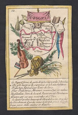 ca. 1800 Epinal Vosges Frankreich France playing card Spielkarte carte a jouer