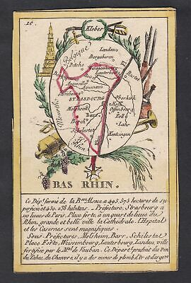 Strasbourg Bas Rhin Frankreich France playing card Spielkarte carte a jouer