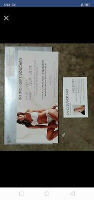 Intimo gift voucher $40 on it hasnt been used at all iy expires sept 2019 Come