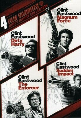 4 Film Favorites: Dirty Harry Collection (2Pc) New Dvd