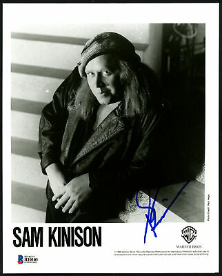 Sam Kinison Authentic Autographed Signed 8x10 Photo Comedian Beckett BAS #H10103