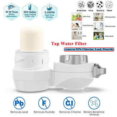 Outdoor Water Filtration Bottle Purifier Filter 99.999% BPA Free Camp Drinking