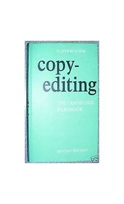 Copy-editing:The Cambridge Handbook by Butcher, Judith 0521256380 The Cheap Fast