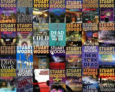 Stuart Woods - Complete Collection of 51 Audiobooks ( MP3 )
