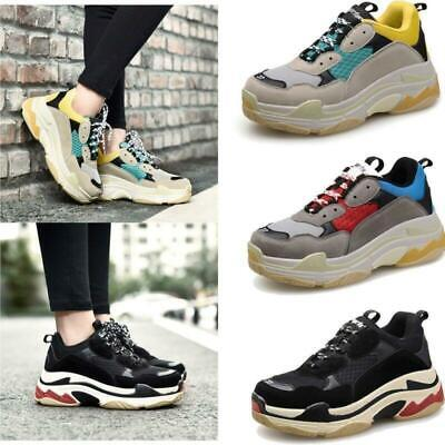 Men & Women's Athletic Trainers Running Triples Sports Shoes Sneakers 2019