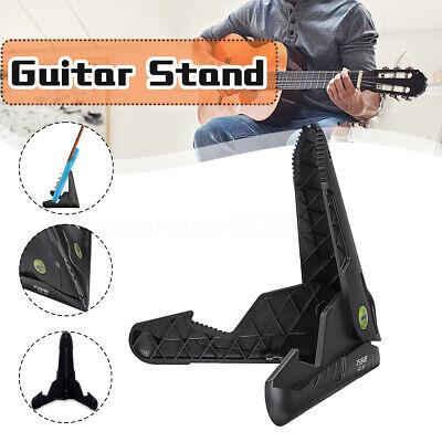Black GGS-02 Alligator-shaped Collapsible Guitar Stand For Electric Guitar