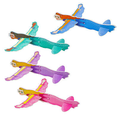 Princess Flying Plane Gliders Ideal Party Bag Fillers Children Toy Game Prizes