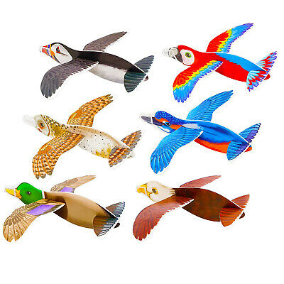 Birds Flying Plane Gliders Ideal Party Bag Fillers Children Toy Game Prizes