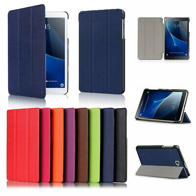 """Slim Leather Smart Case Cover Stand For Samsung Galaxy Tab A 8.0 9.7 10.1 10.5"""""""
